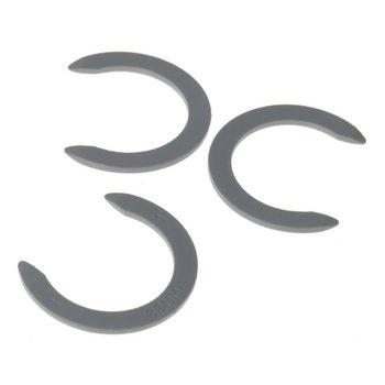 Schwarz Einsteck-Winkelsteckverbinder EWSK 22 Ø 22 mm Kunststoff