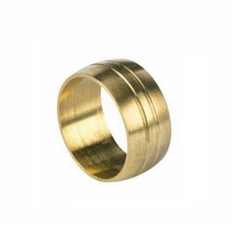 Klemmring KRM 15, Ø 15 mm, Gold, Messing